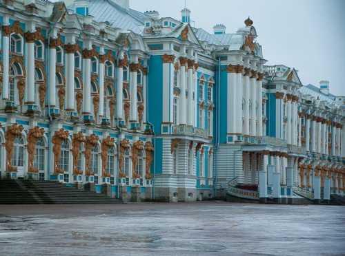 екатерининский дворец и парк царское село фото